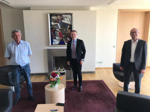 Bertram Brossardt, Andreas Maximilian Nolte, Dr. Christof Prechtl